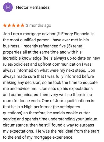 Mortgage San Marino Review