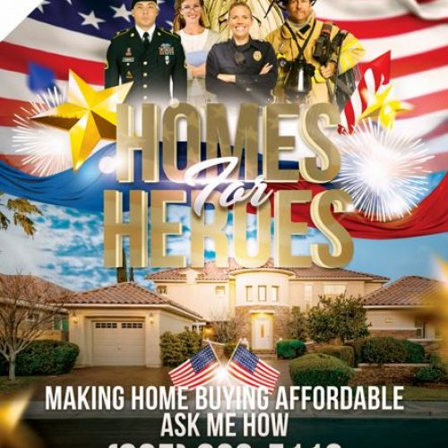 Affordable home bying - homes for heros