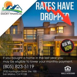 Mortgage rates have dropped in Los Angeles